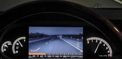 night vision device for cars