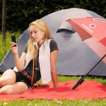 vodafone booster brolly umbrella