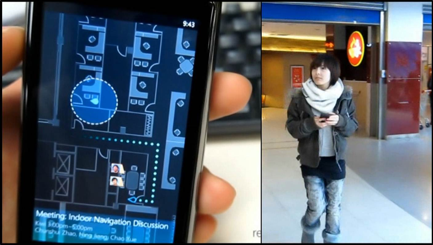 Accurate Indoor Localization App Through Your Smart Phone