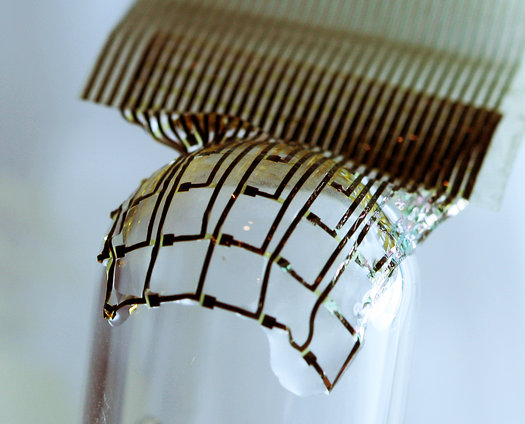 Self-Destructing Gadgets And Medical Implants Made From Silk