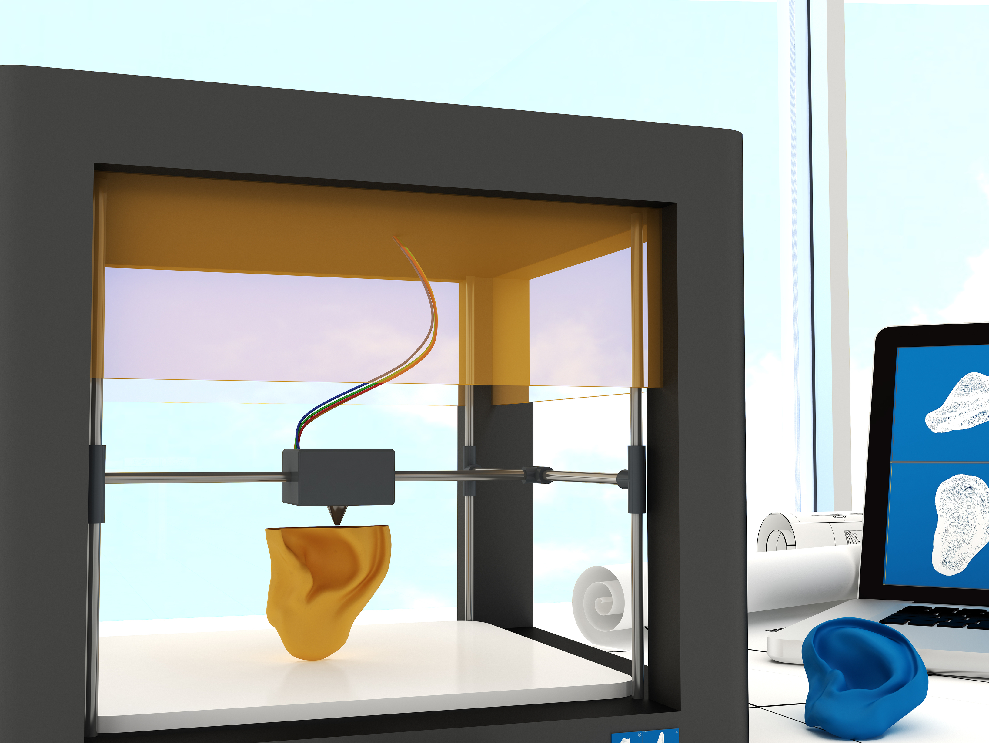 Tissues and Organs on Demand? How 3D Bioprinters May Revolutionize Medicine