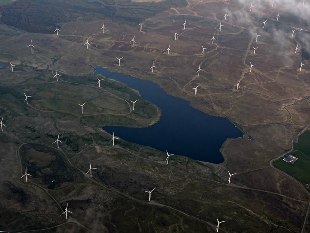 How can renewable energy technologies support the water industry?