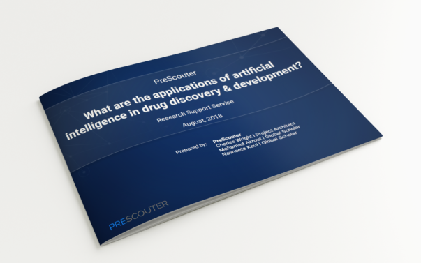 What are the applications of artificial intelligence in drug discovery & development?
