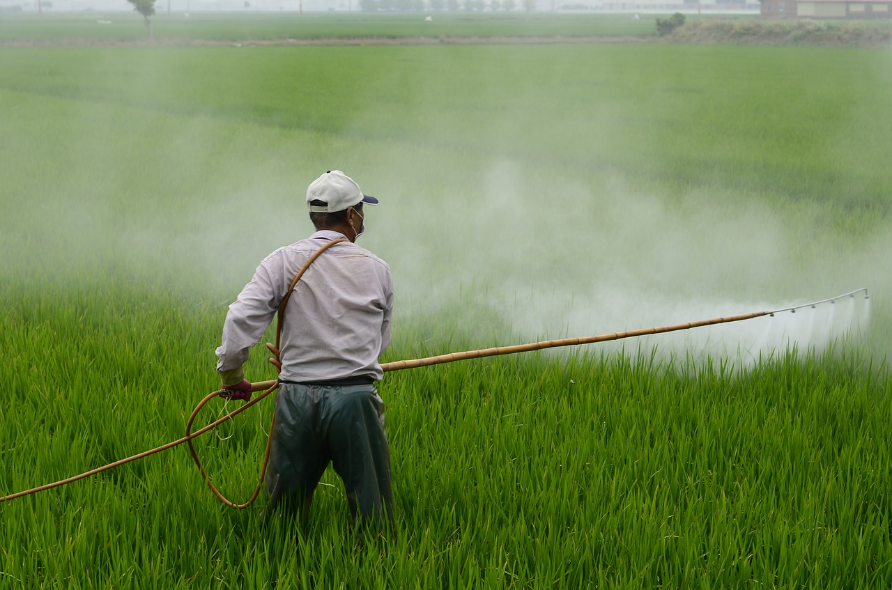Charged polymers: A sticky solution for our pesticide problem