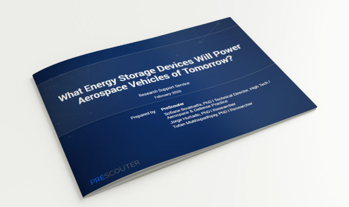 What Energy Storage Devices Will Power Aerospace Vehicles of Tomorrow?