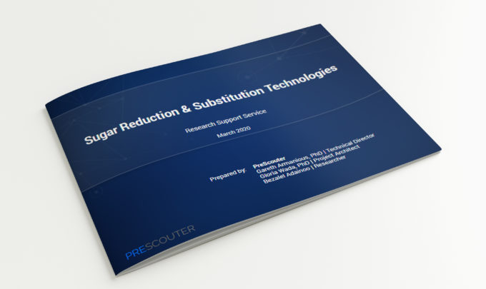 Sugar Reduction & Sugar Substitution Technologies – 2020